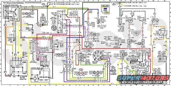 1976 ford bronco tech diagrams pictures videos and sounds rh supermotors net Ford Diagrams Schematics 1988 Ford Bronco Wiring Diagram