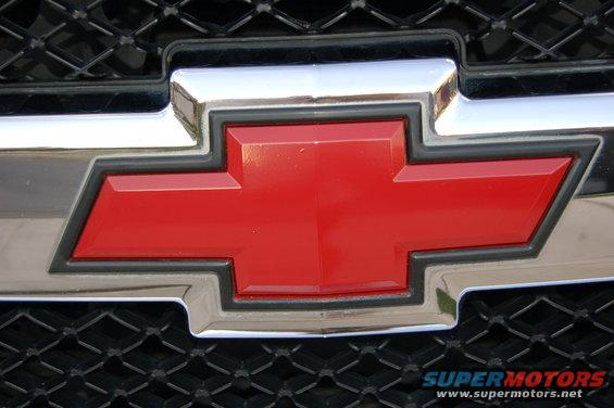 Red Bowtie Chevrolet Emblem | Autos Weblog