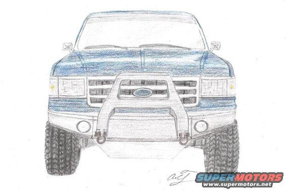 Post Your Sketches Ford Bronco Forum