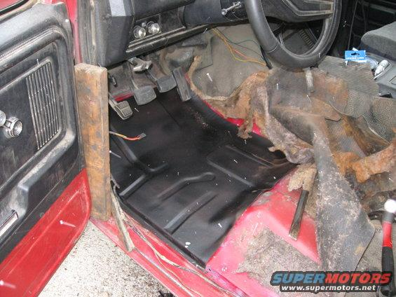 Bronco Motors Boise >> Bronco gets a new floor pan. - Ford Truck Enthusiasts Forums