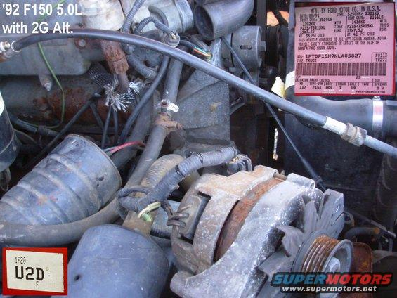 92f2g alt= 1983 ford bronco general purpose pics pictures, videos, and sounds 1992 ford f150 alternator wiring diagram at edmiracle.co
