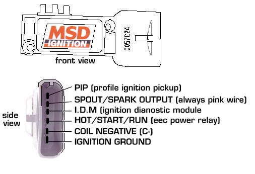 remote msd ignition control module