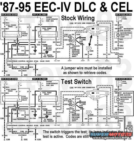 Selftestswitch Jpg Self-test Switch For  U0026 39 87-95 Eec-iv Vehicles If The     Images