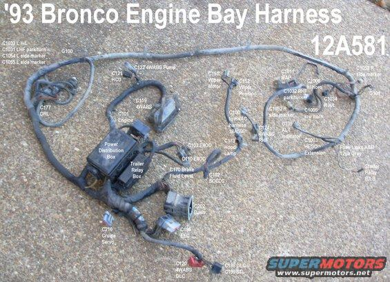 harness93xltbay alt= 1983 ford bronco general purpose pics pictures, videos, and sounds OEM Engine Wire Harness at reclaimingppi.co