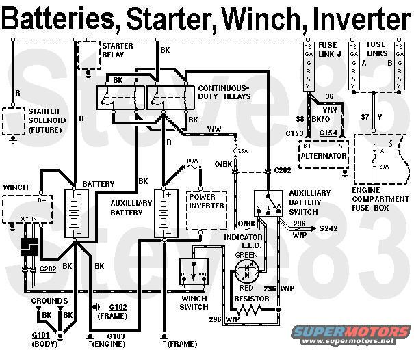 batteries  Ford Bronco Alternator Wiring Diagram on 1972 ford alternator diagram, ford bronco vacuum diagram, ford ranger alternator wiring, light wiring diagram, ford 302 distributor wiring diagram, ford bronco alternator connector, ford bronco fuse box diagram, 1996 ford mustang alternator diagram, ford bronco steering column diagram, ford 3 wire alternator diagram, ford alternator connections, ford 3g alternator wiring, 1978 ford bronco wiring diagram, 1972 ford bronco wiring diagram, ford escape alternator wiring, 78 ford bronco wiring diagram, ford bronco fuel pump diagram, 1976 ford ignition wiring diagram, ford bronco engine diagram, ford alternator fuse,