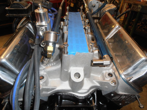 5 0 Amp 5 8 Fuel Rail Spacing Ford Bronco Forum