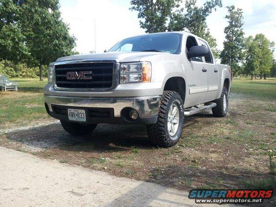 Re official leveling kit picture info thread