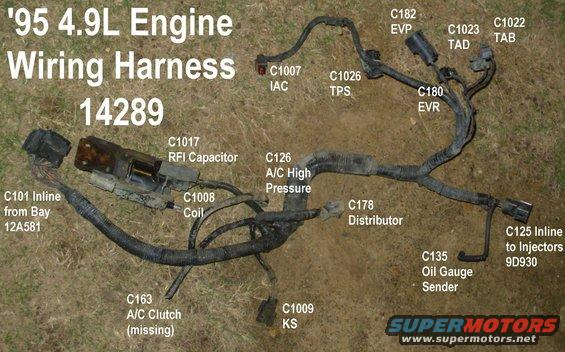 harness49eng alt= 1983 ford bronco general purpose pics pictures, videos, and sounds 1996 ford f150 engine wiring harness at eliteediting.co