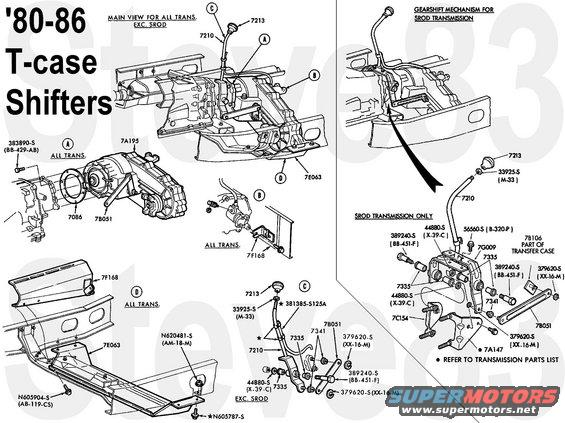 1983 ford bronco diagrams picture supermotors