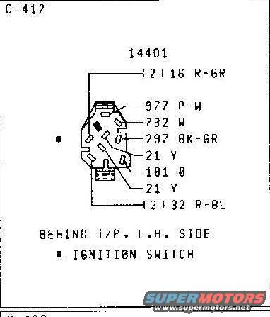 ignition switch wiring 79 wiring schematics ford bronco forum 1979 ford bronco wiring diagram at n-0.co