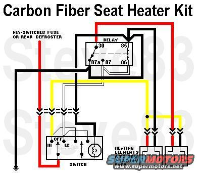 heated seat switch wiring diagram e90 seat switch wiring diagram 1983 ford bronco body donor #2 picture | supermotors.net #6