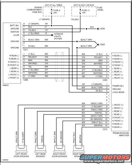 1996 ford explorer factory amp wiring diagram - somurich com ford  explorer speaker wiring diagram