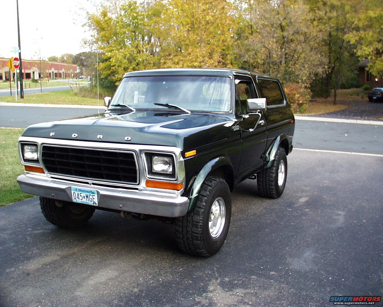 1995 Ford Bronco Michigan 78-79 Broncos picture | SuperMotors.net
