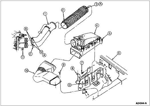 1990 Ford Bronco Engine Diagram