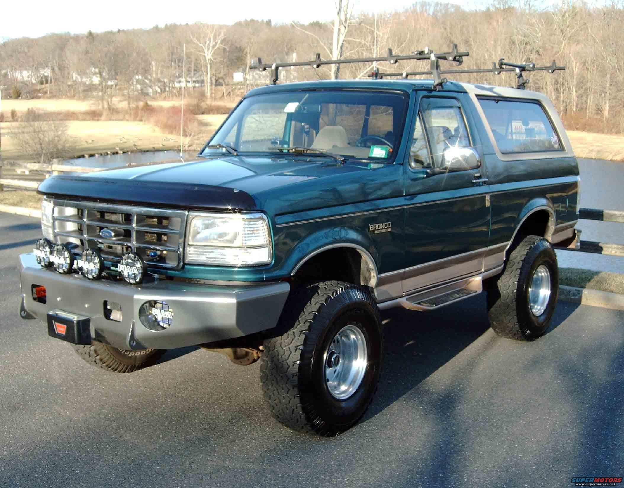 New Ford Bronco >> 1996 Ford Bronco New Bumper picture | SuperMotors.net