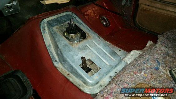 Bronco Motors Boise >> ZF5 speed in bullnose body. Transfer case shifter ideas ...