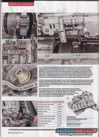 c-6 shift kit article in hot rod mag  Img_20190223_0005