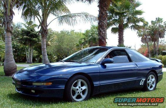 1993 Ford Probe the Blue Bullet picture | SuperMotors.net