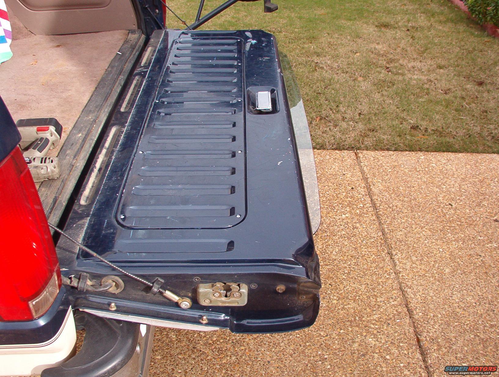 1983 Ford Bronco Tailgate Tech Picture Supermotors Net
