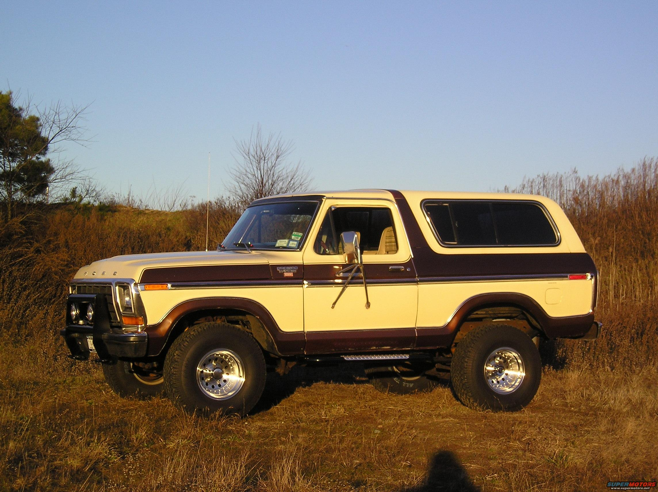 Ford Ranger Images >> 1979 Ford Bronco 79 Bronco Ranger XLT Trailer Special picture | SuperMotors.net