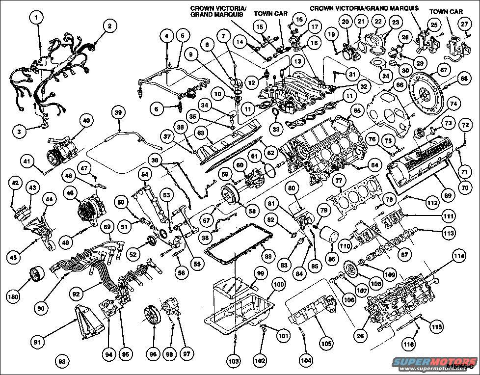 01 excursion v8 engine diagram 4 6l v8 engine diagram 1994 ford crown victoria diagrams picture | supermotors.net #9