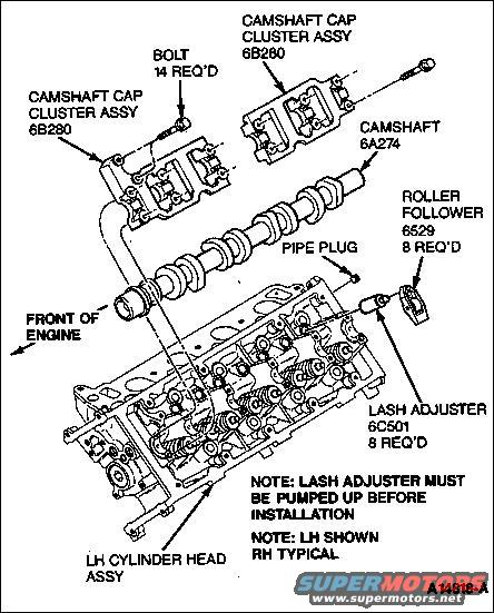 1994 Ford Crown Victoria Camshaft: 1994 Ford Crown Victoria Diagrams Picture