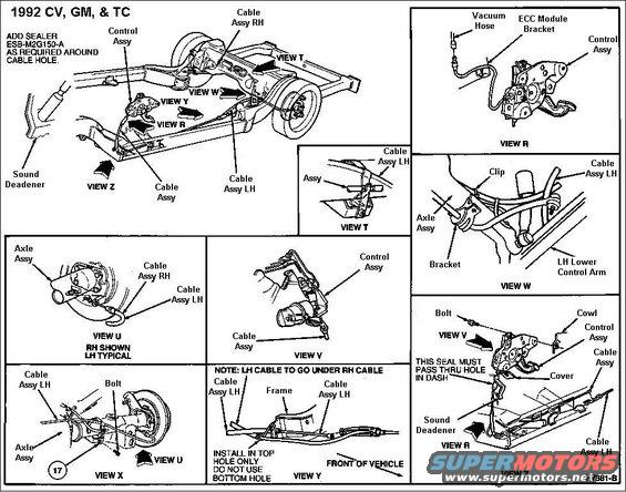 1994 Ford Crown Victoria Diagrams Picture