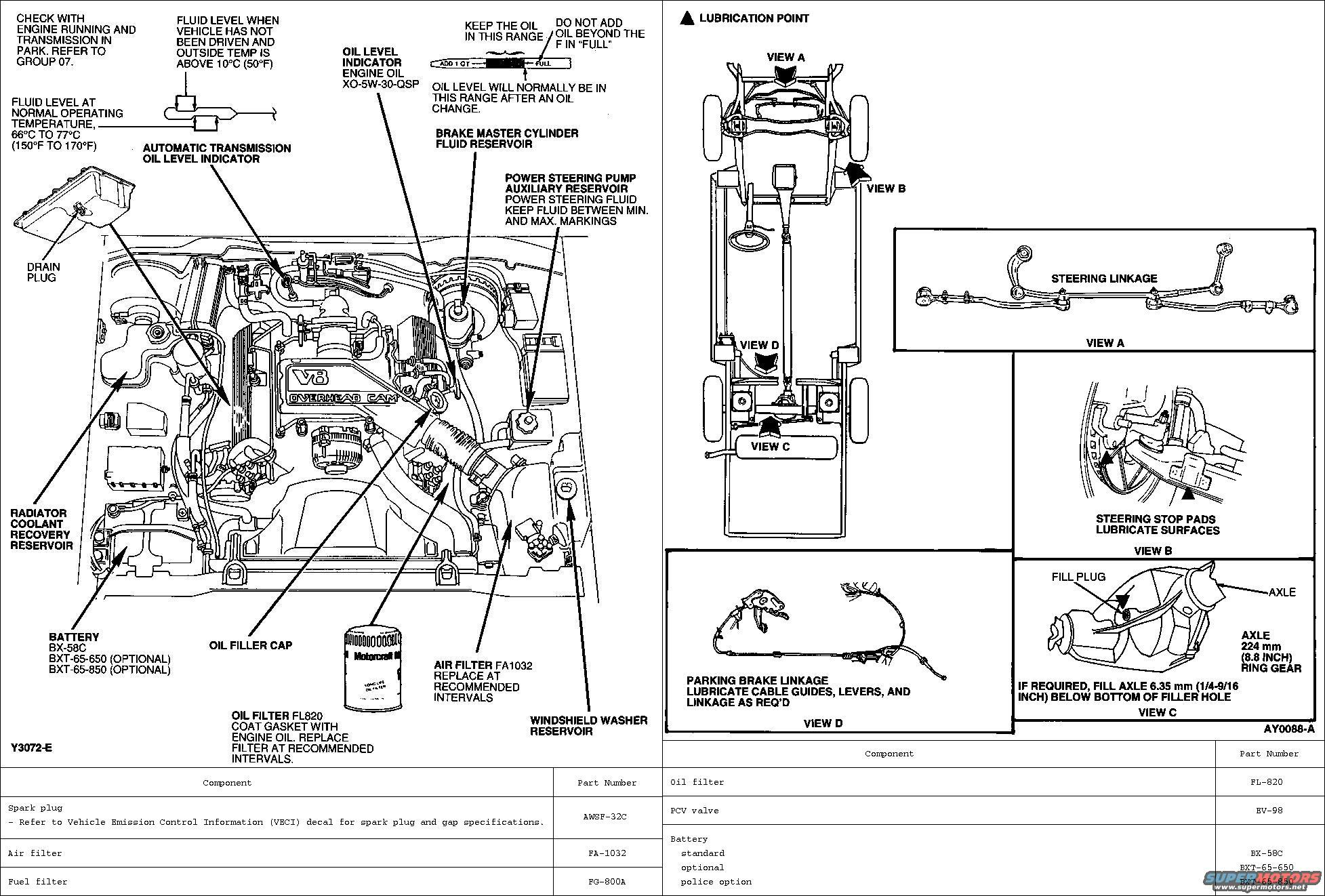 1994 ford crown victoria diagrams picture supermotors net