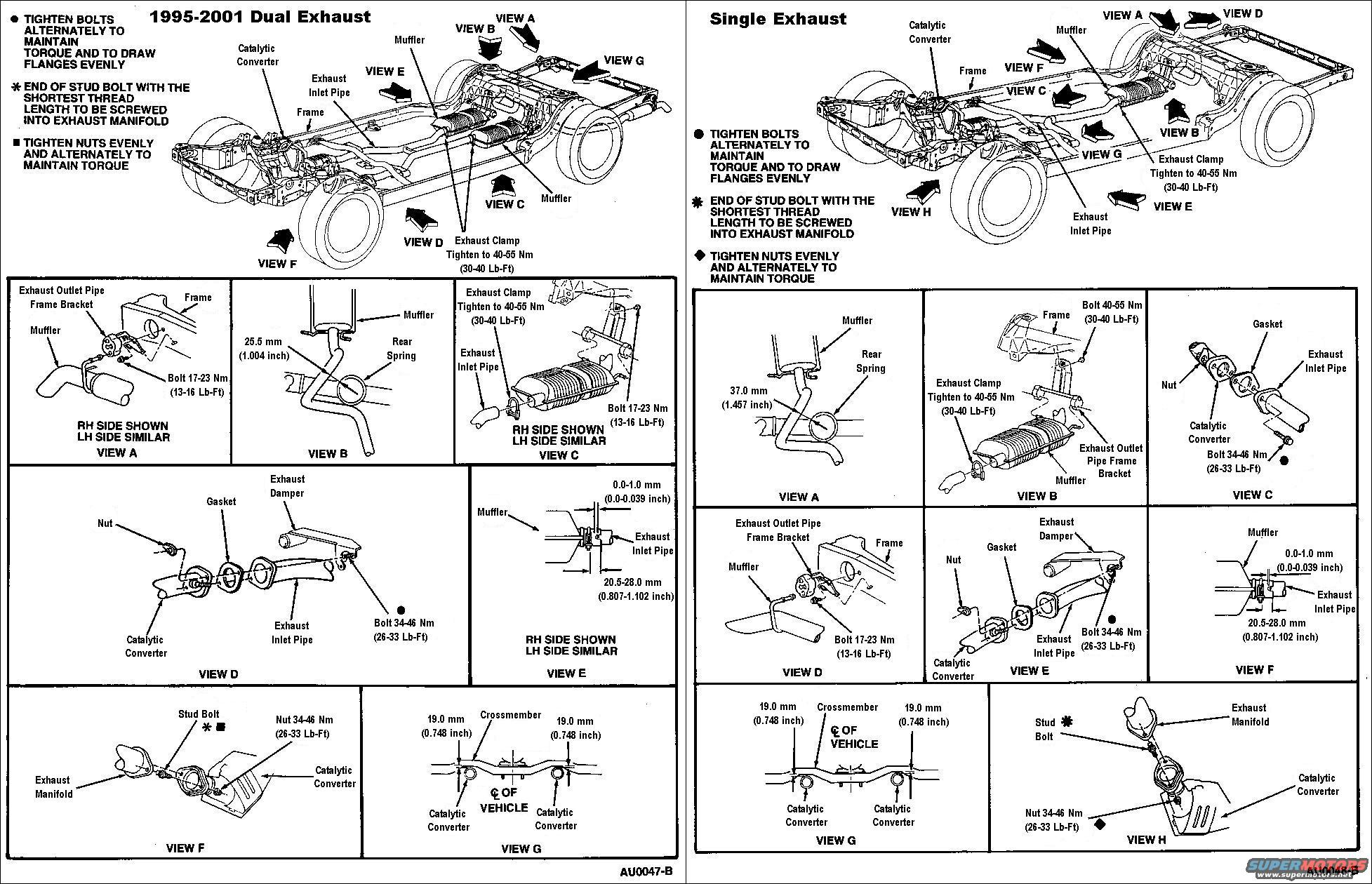 mercury grand marquis front suspension diagram