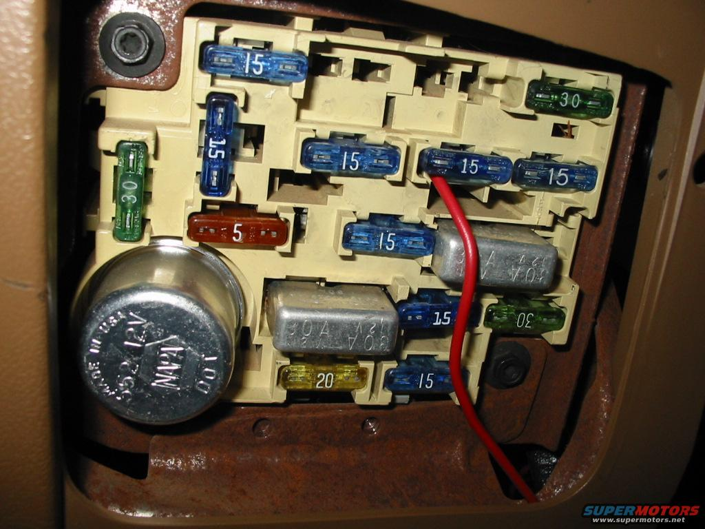 1988 Ford Bronco technical stuff picture | SuperMotors.netSuperMotors.net