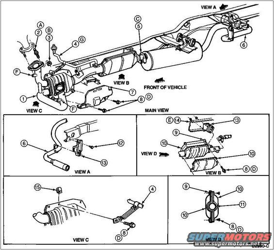 2005 ford escape exhaust diagram wiring diagram schematic name
