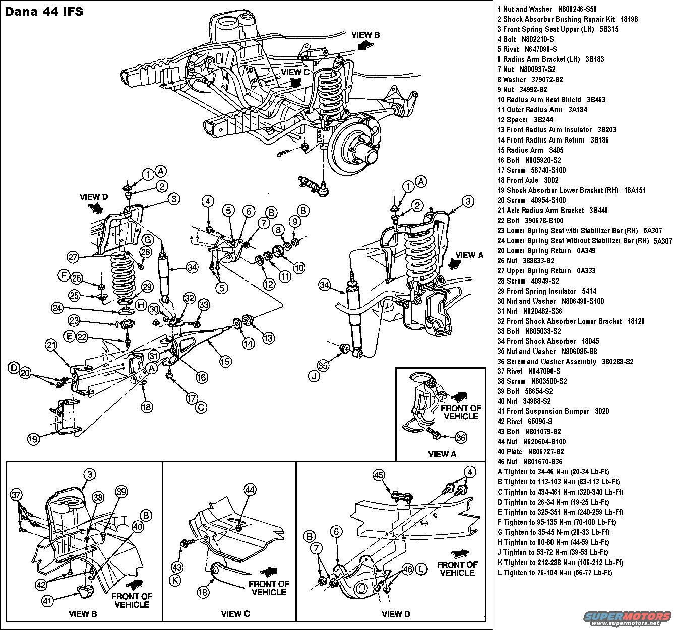 2000 Ford F 250 4x4 Front Axle Diagram Wiring Diagrams Best