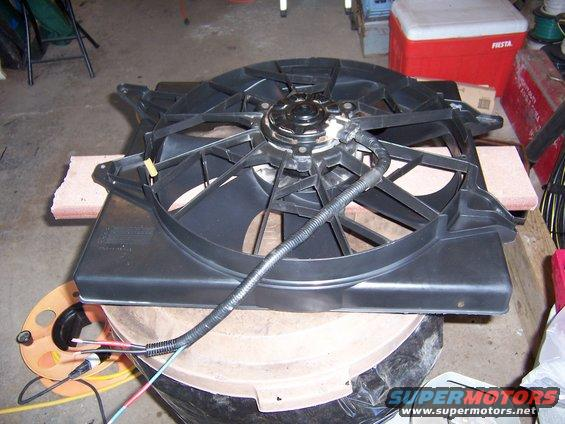 1983 Ford Bronco Electric Fan Conversion Picture
