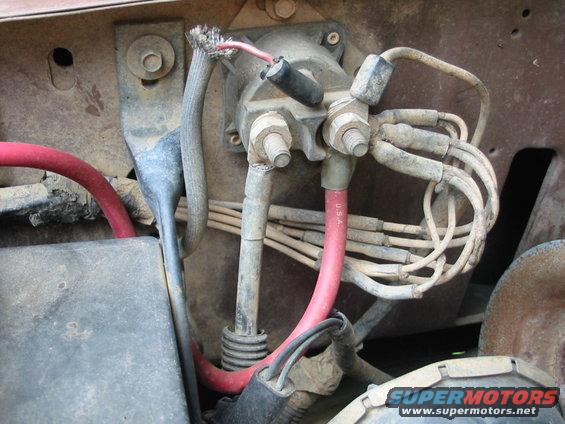 Starter Relay on 1992 Mustang Wiring Diagram