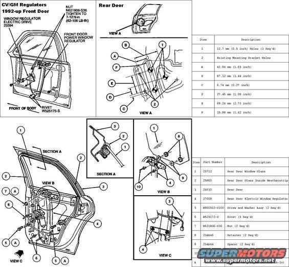 1994 Ford Crown Victoria Diagrams Picture Supermotors Net