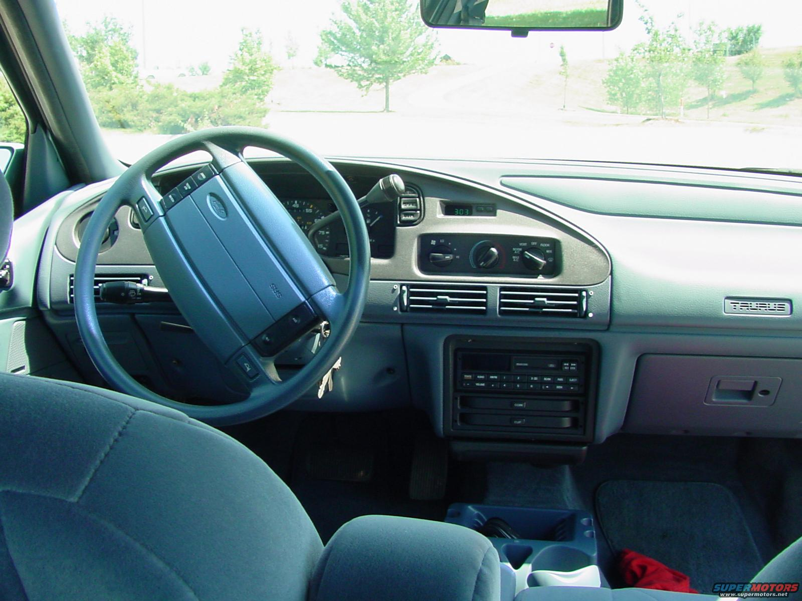 ford taurus interior picture supermotorsnet