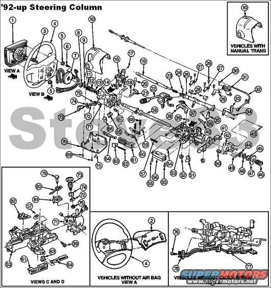 1983 Ford Bronco Diagrams Picture Supermotors Net