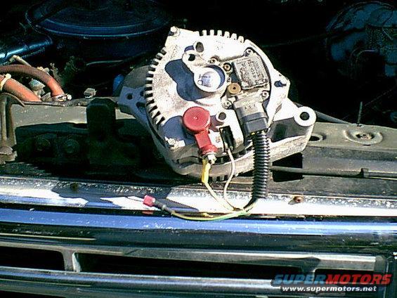 [SCHEMATICS_49CH]  1983 Ford Bronco 3G Alternator Swap picture | SuperMotors.net | 1983 Ford Alternator Wiring |  | SuperMotors.net