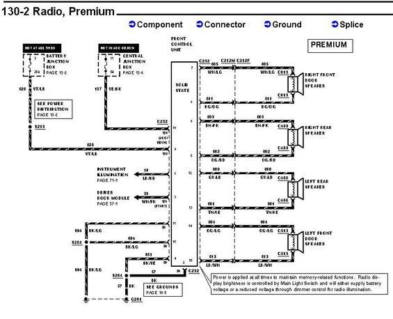 9802 premrad alt= 1993 mercury villager radio wiring diagram wiring diagram 2000 mercury grand marquis wiring diagram at gsmx.co