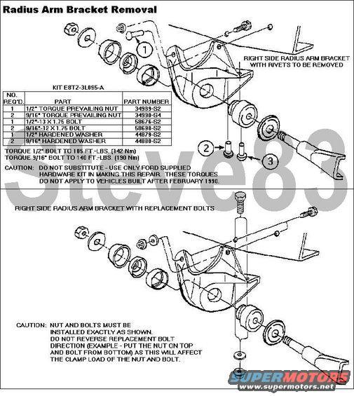 Radiusarmbrktrplc: 1986 Ford Bronco Engine Wiring Harness At Daniellemon.com