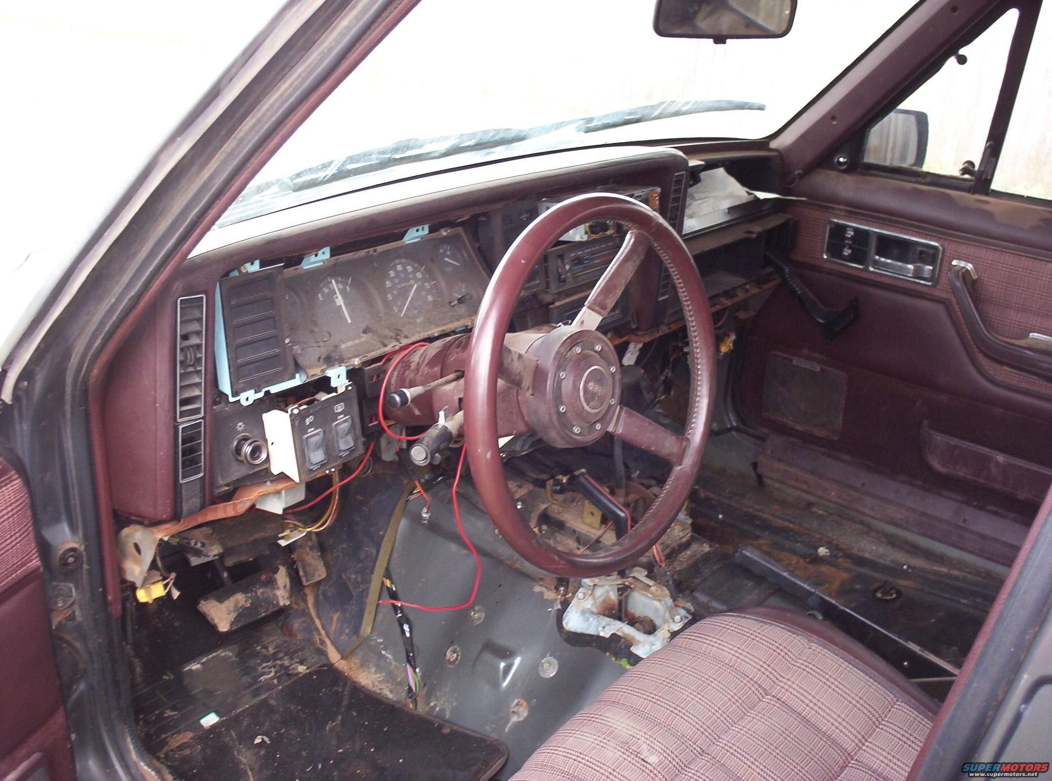 1987 Jeep Cherokee Interior Picture Supermotors Net