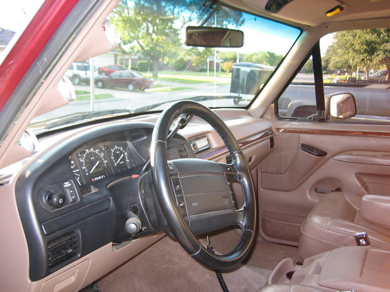 1996 Ford Bronco Interior picture | SuperMotors.net