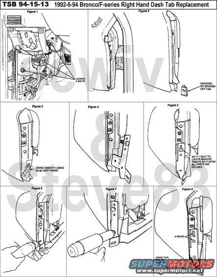 1983 ford bronco tsb 94