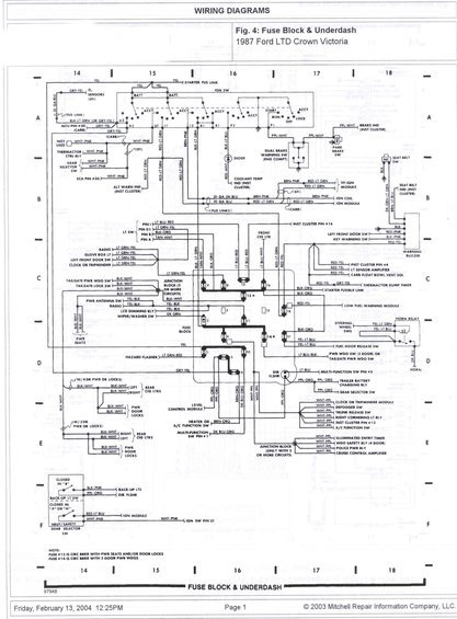 1985 ford crown victoria ltd wire diagrams pictures videos and rh supermotors net 2005 Ford Crown Victoria Radio Wiring Diagram 2008 Ford Crown Victoria Wiring Diagram