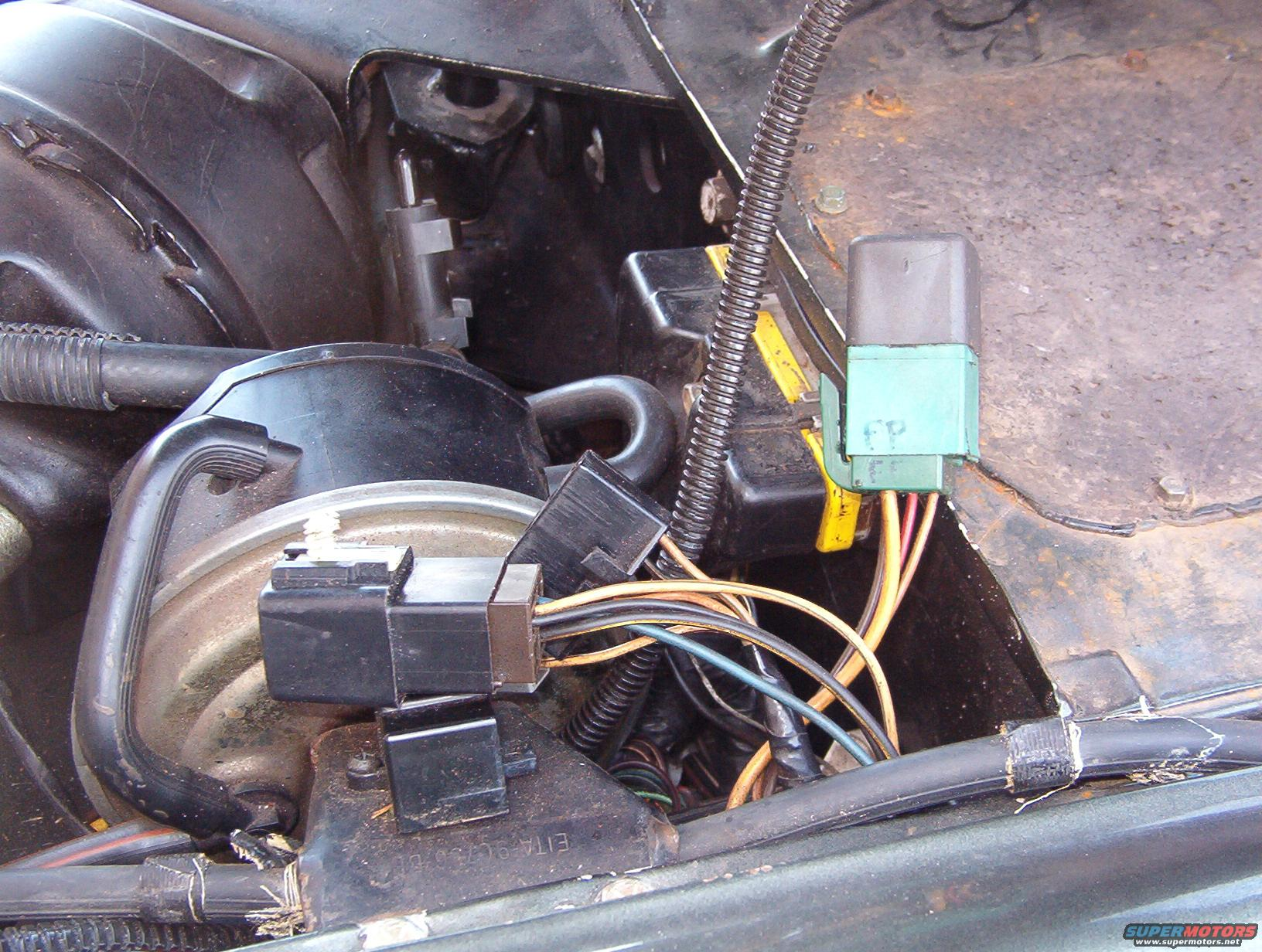 Ford Taurus Fuse Box Diagram On 89 Ford F 250 Headlight Relay