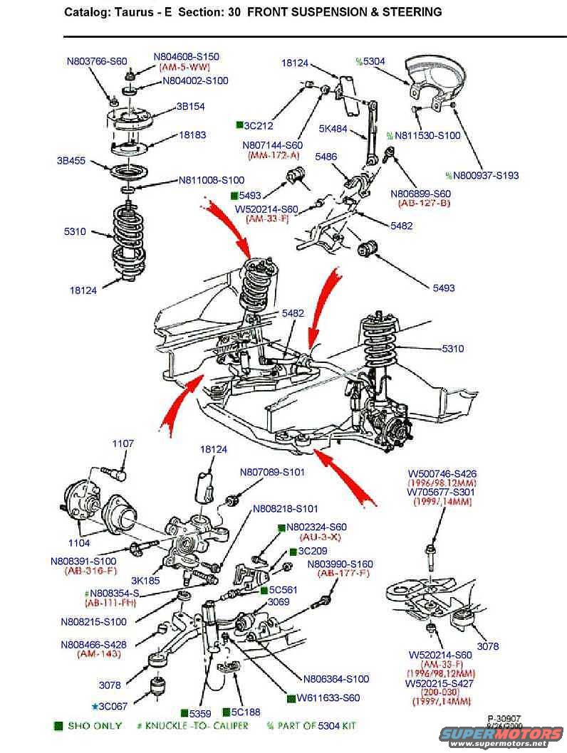 2001 Ford Taurus Front End Diagram Wiring Diagrams 2003 Crown Victoria Fuse Box 98 Get Free Image Suspension