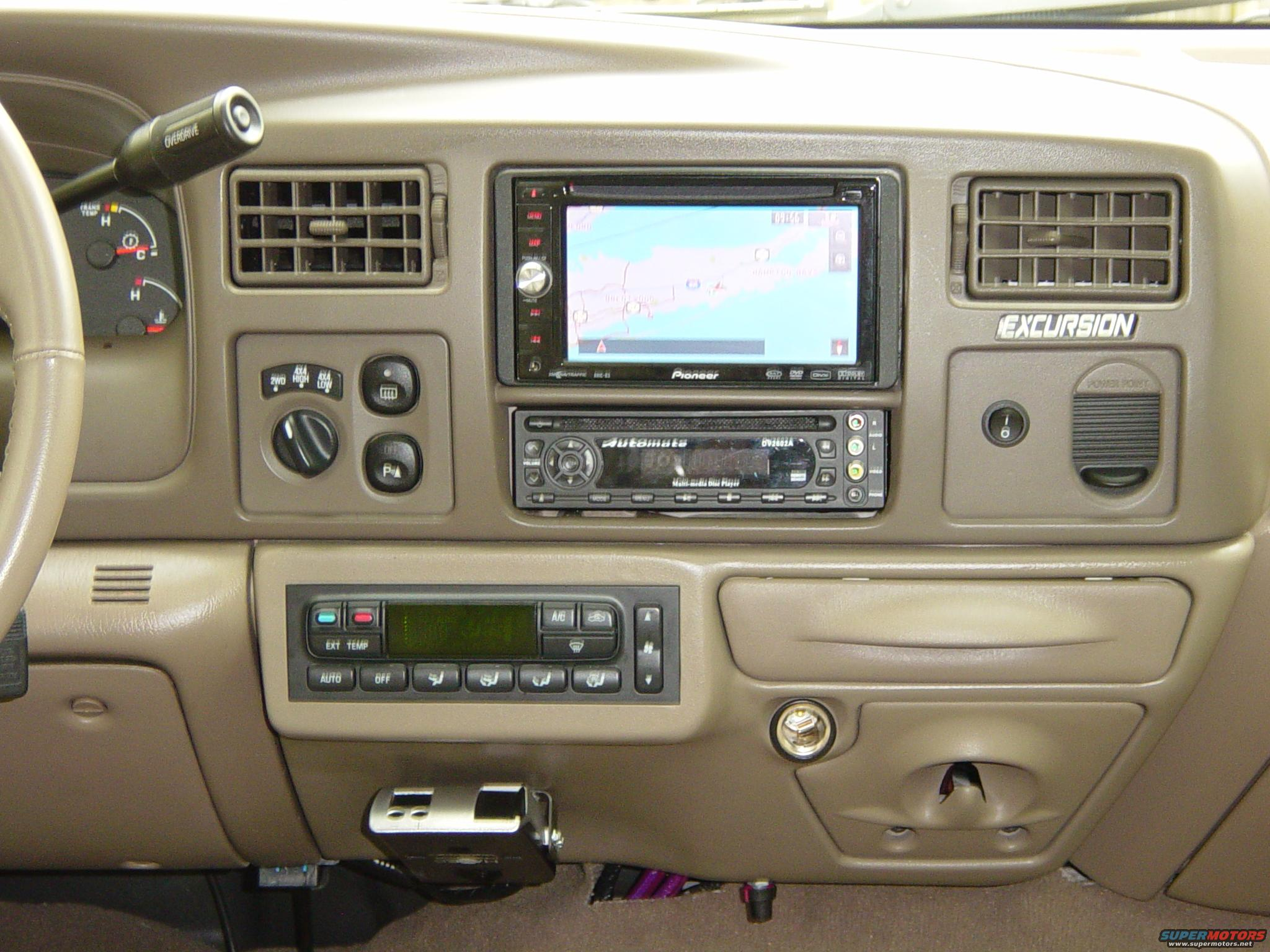 2004 Ford Excursion Interior Mods Picture Supermotors Net