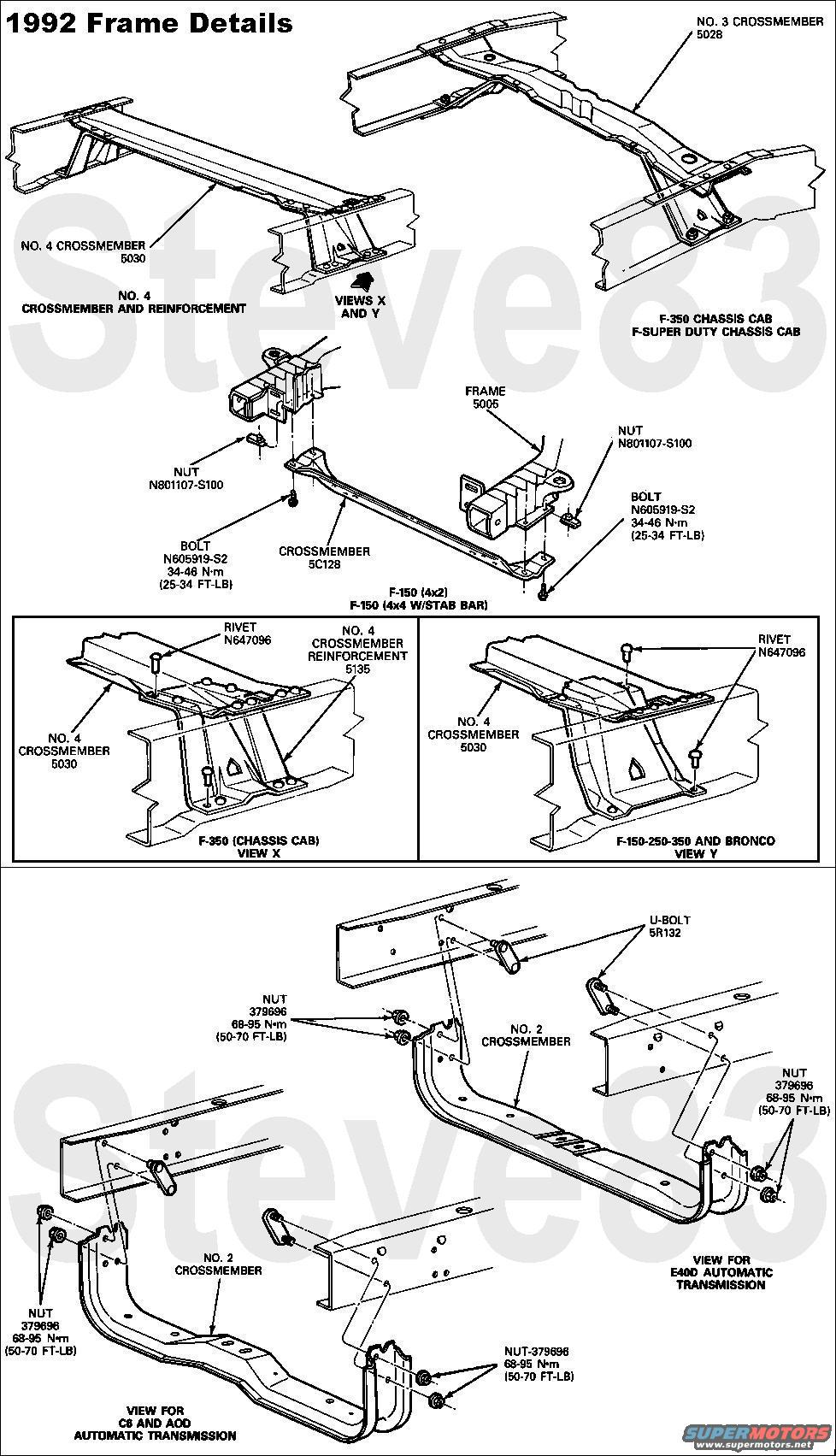 1980 Ford Bronco Frame Body Part Question Forum 92 Other Years Similar Exc For Front Crumple Zone Source By Steve83 Steve That Dirty Old Truck At Supermotorsnet