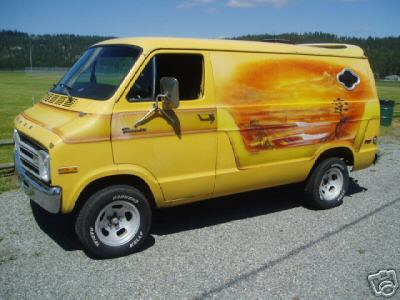1978 Ford E250 1977 Dodge Street Van Picture