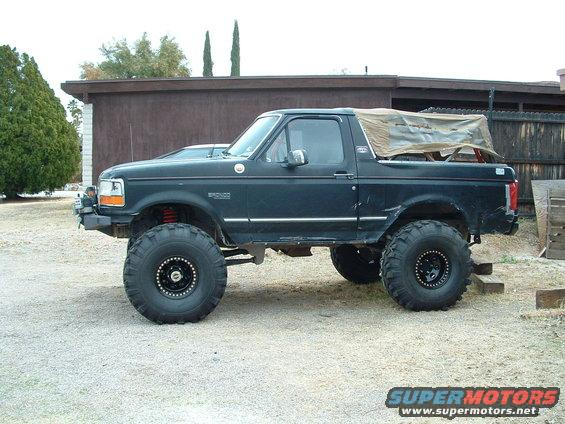 Ford Bronco Tires >> 1993 Ford Bronco 78saxle picture | SuperMotors.net